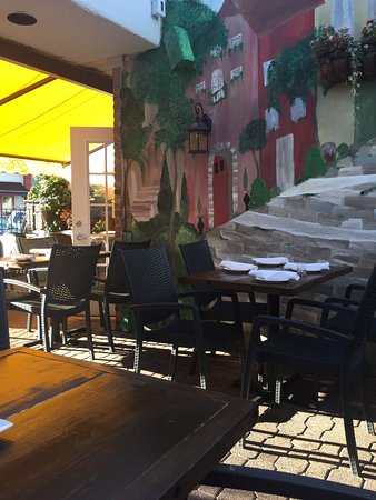 Ridgewood, Nueva Jersey: The really comfortable patio