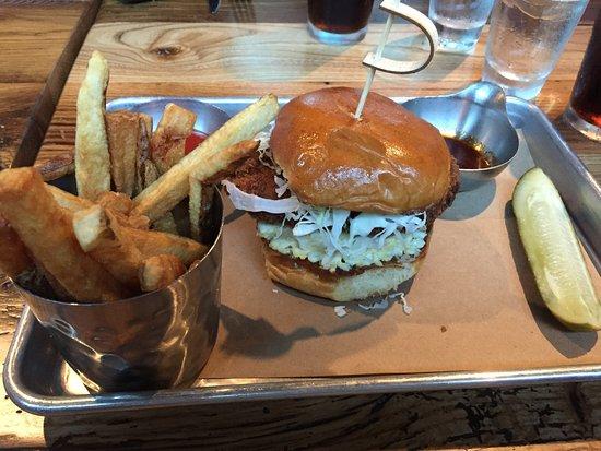 Ashburn, VA: Crispy Chicken Sandwich