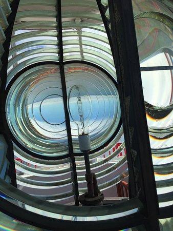 Miscou, Canada : Original Fresnel lens