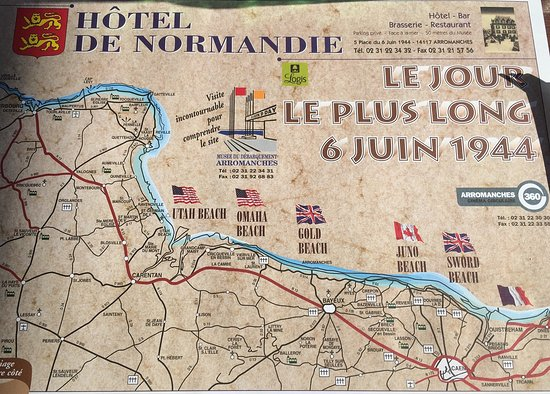 Арроманш-ле-Бен, Франция: Musee du debarquement