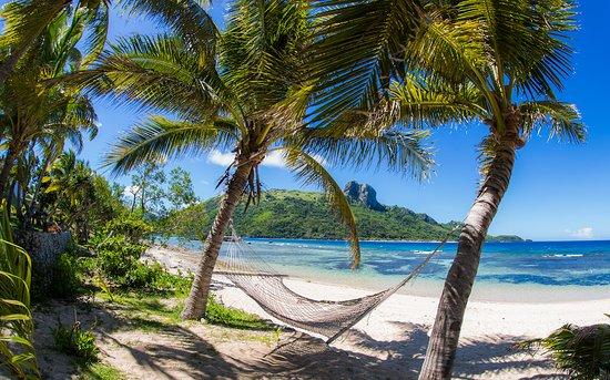 Kuata Island, Fiji: Kuata hammock