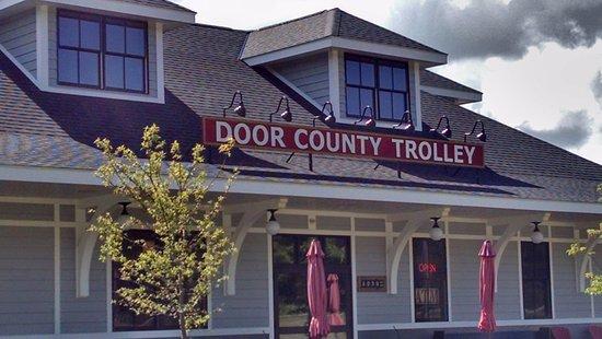 Egg Harbor, Висконсин: Trolley Station