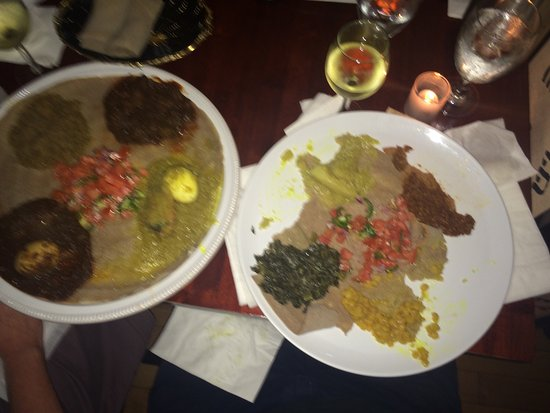 Ethiopic Restaurant Dc Menu
