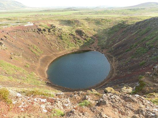 Selfoss, Islandia: kerid