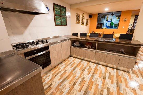 Hotel Francés La Maison: Cocina