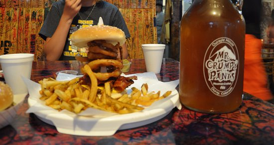 The 420 Burger Picture Of Maggie S Kitchen Ouray Tripadvisor