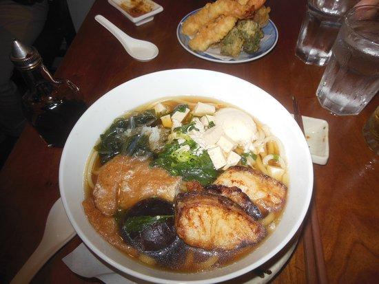 Bizen: Sanuki Udon summer special soup with tilapia