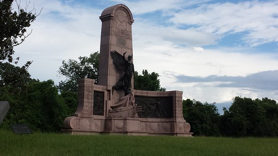 Vicksburg National Military Park: This is the monument for one of the States involved i the battle
