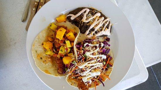 Tioga Gas Mart & Whoa Nellie Deli: Fish Tacos