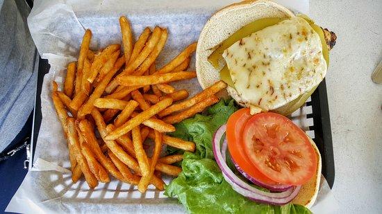 Tioga Gas Mart & Whoa Nellie Deli: Ortega Chicken Sandwich