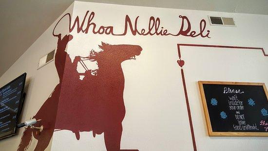 Tioga Gas Mart & Whoa Nellie Deli: Whoa Nellie Deli