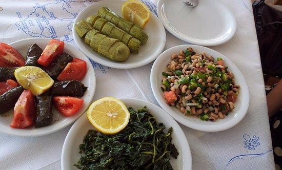 Agios Prokopios, Grækenland: Dishes