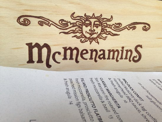 McMenamins Mill Creek: sign