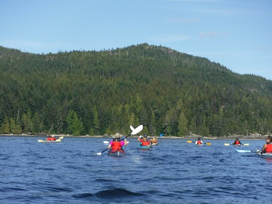 Heriot Bay, Kanada: Paddling FUN!