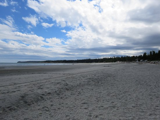 Black Creek, Canadá: Saratoga Beach, short walk from the campgrounds