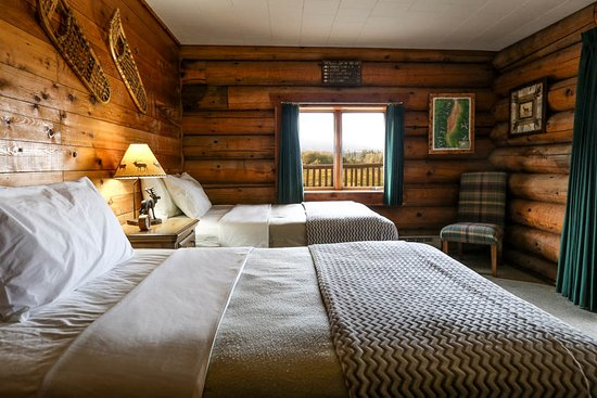 Victor, MT: Lodge Double Guest Room