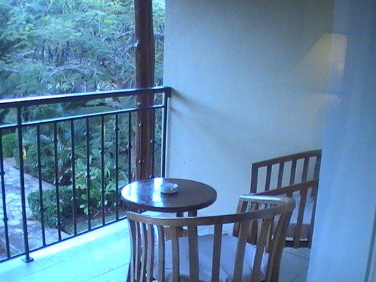 Dream of Zanzibar: the balcony