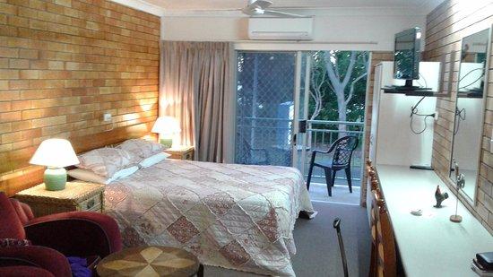 Urangan, Australien: Grande chambre tout confort