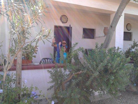 Agriturismo Masseria Lo Sperone: ingresso della nostra stanza