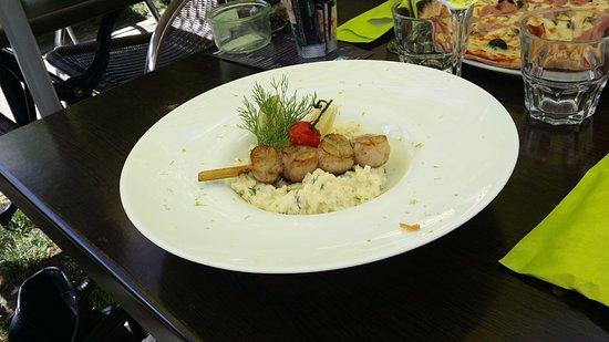 Bourg Saint Maurice, Francia: risotto au St Jacques ...vous pouvez oser