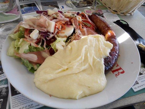 """Bozouls, Frankrijk: Assiette """"de la montagne"""""""