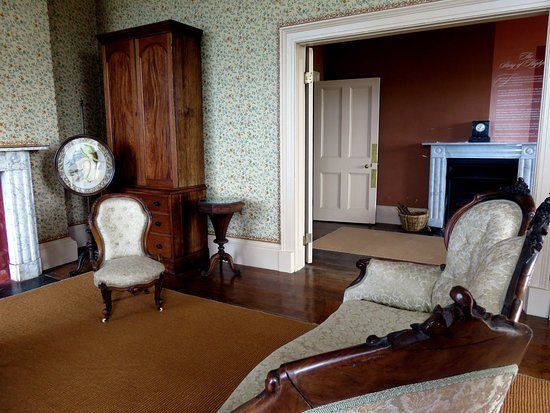 Highfield, Stanley Tasmania. The Drawing Room looking through to The Gallery