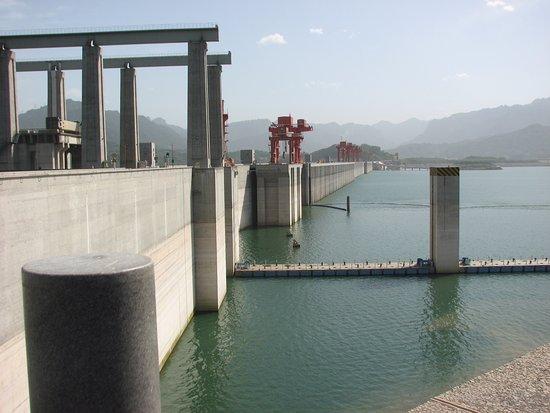 Yichang, Kina: Vue du centre d'observation