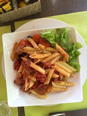 Vizzavona, Francia: Sauté de veau Corse