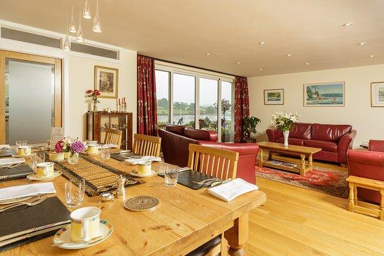 Kingsbridge, UK: Breakfast Room/Lounge