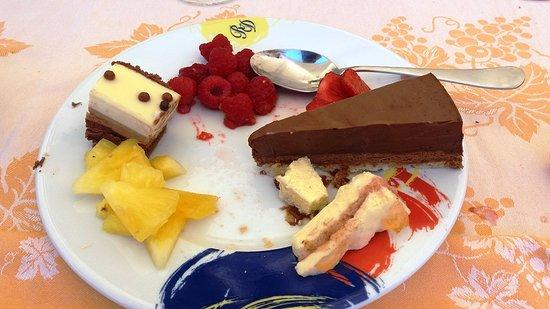 Amberieux-en-Dombes, Francia: un exemple de dessert