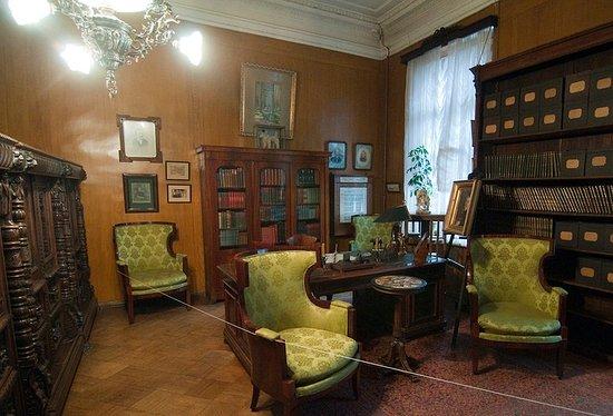 Academician I. Pavlov's Memorial Study