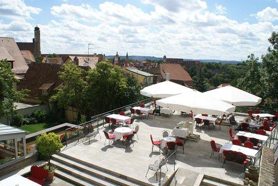 Hotel Eisenhut: Terrasse
