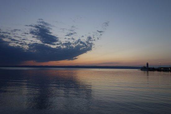 Rundfahrt Naturschutzgebiet Podersdorf: sunset