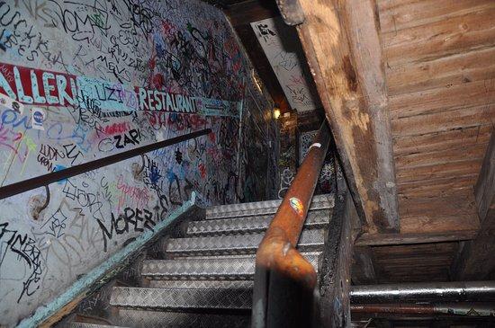 Spiseloppen Christiania: Stairwell