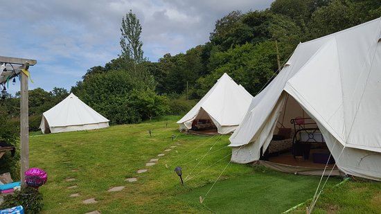 Belvoir, UK: The lovely tents