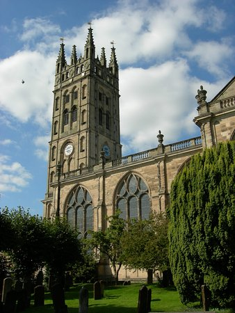 Warwick, UK: The tower of St Mary's - 165 steps to the top.