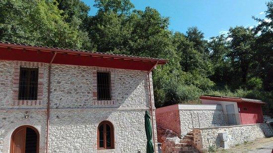 Tolfa, Italia: edificio camere