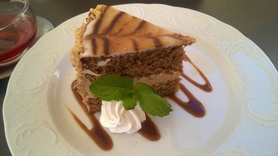 Tea Room at Palazzo Parisio: Coffee Cake