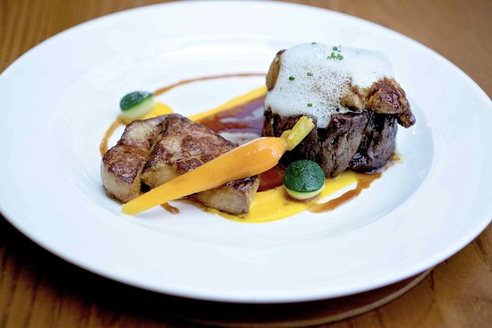 The Kinmel Arms: perfect meal
