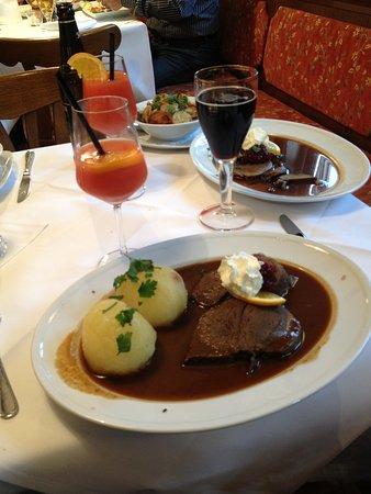 Hotel Goldener Hirsch: Unser Essen
