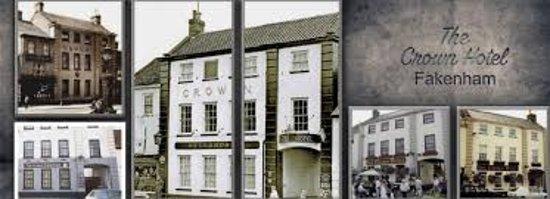 Fakenham, UK: The Crown through the years