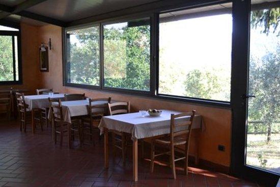 Cantagallo, Ιταλία: Sala ristorante