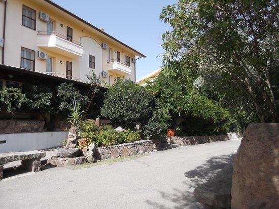 Hotel Badde Rosa : ingresso hotel