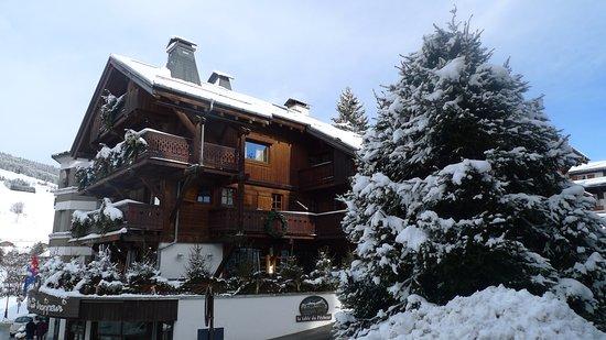 Chalet St Georges : en hiver