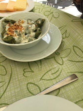 Giustino, Itália: primo piatto ...