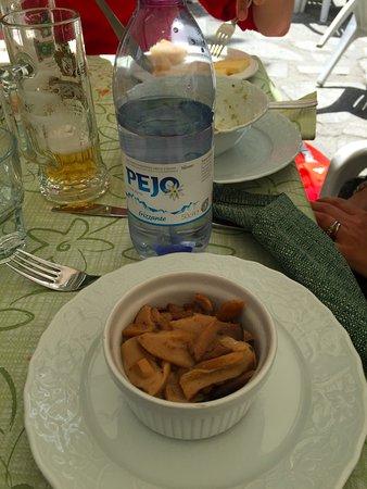 Giustino, Itália: i funghi