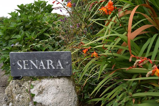 St Buryan, UK: entrance to Senara