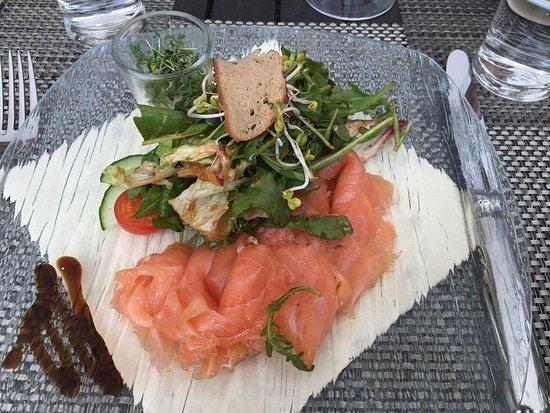 Oestrich-Winkel, Alemania: salmon platter