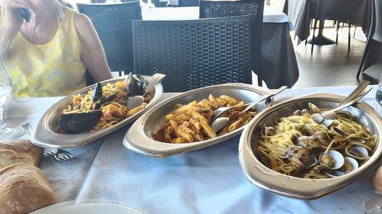 Santa Tecla, อิตาลี: primi piatti