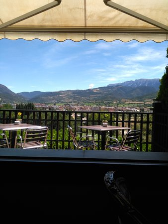 La Seu d'Urgell, Spain: The terrace.